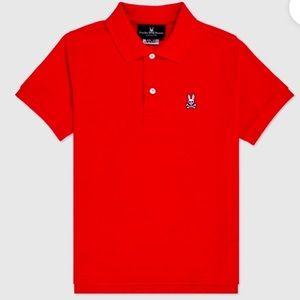 Psycho Bunny Classic Polo Shirt. Orange. XL. New.